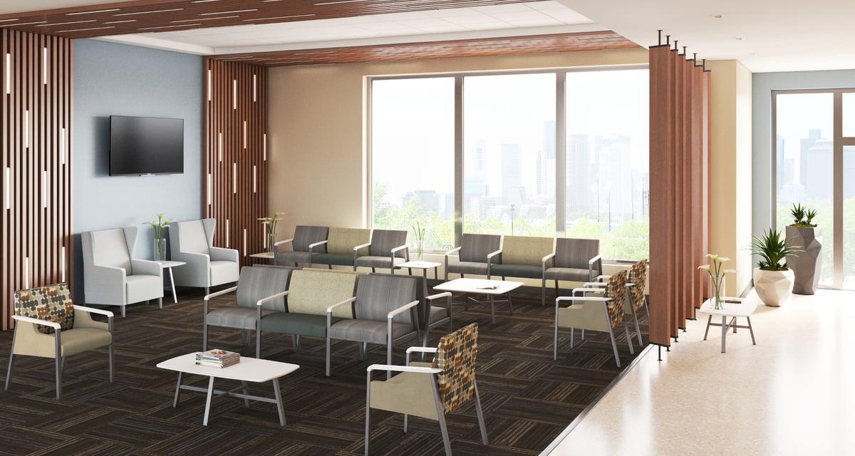 Waiting room rendering - Dan Binford